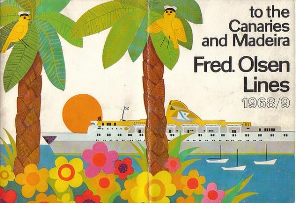 Fred Olsen 1969 Brochure