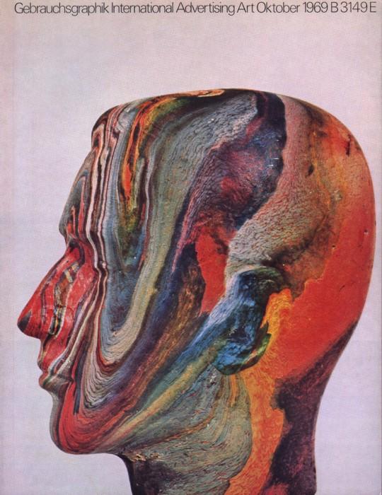 Gebrauchsgraphik magazine--Oct 1969