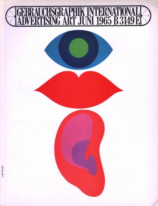 Gebrauchsgraphikmagazine 1965