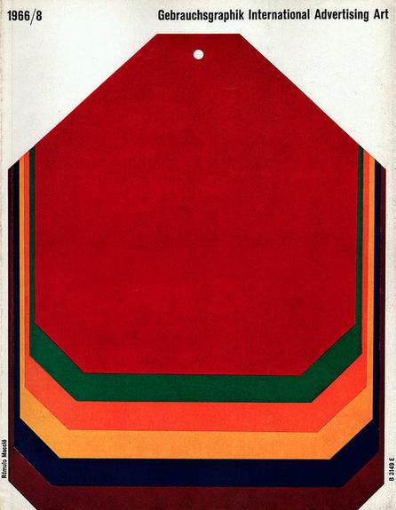 Gebrauschsgraphik 1966 Magazine