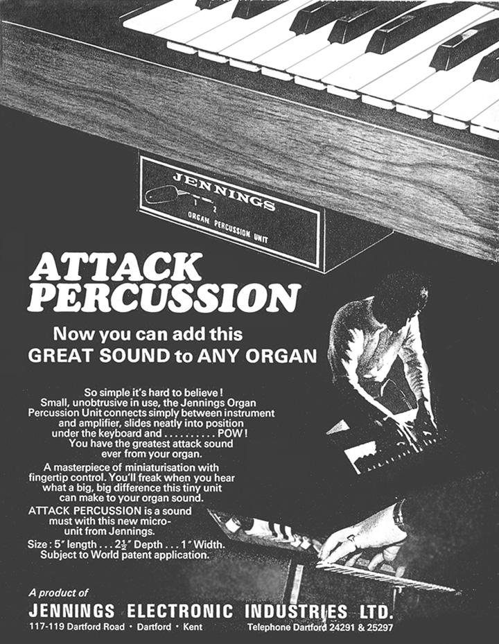 Jennings Organ Advert