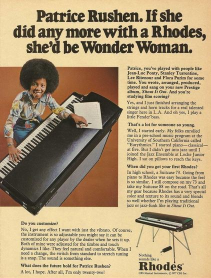 Rhodes Organ Advert