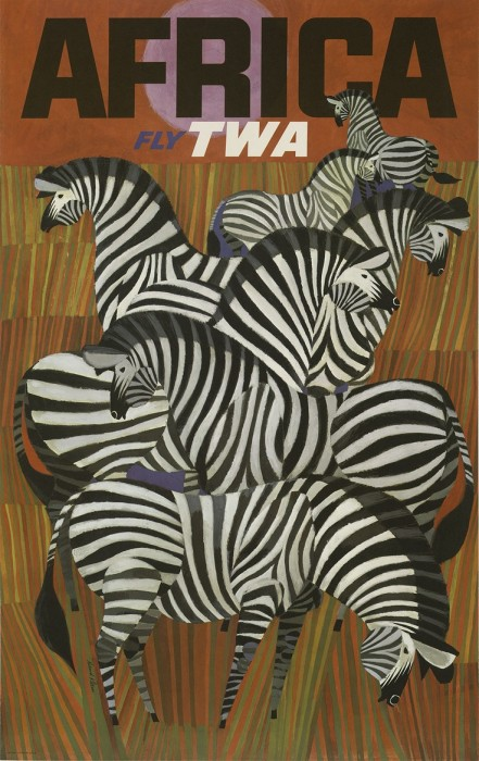 TWA Africa Poster
