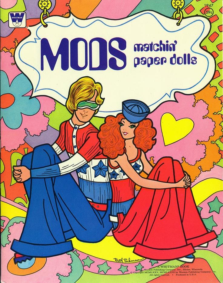 Mod Paper Dolls