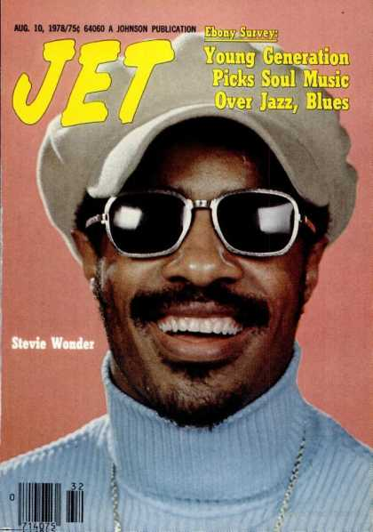 Stevie Wonder - Jet Magazine
