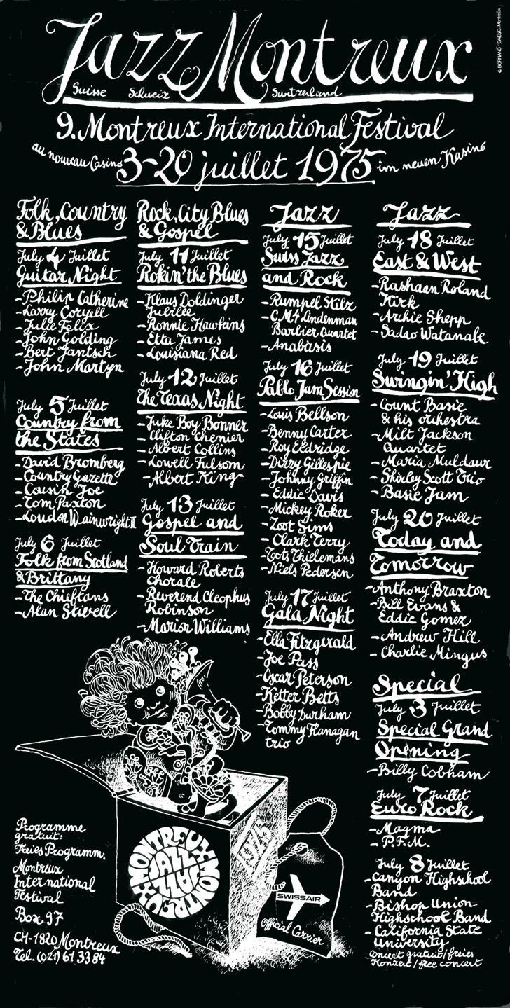1975 Montreux Jazz Festival