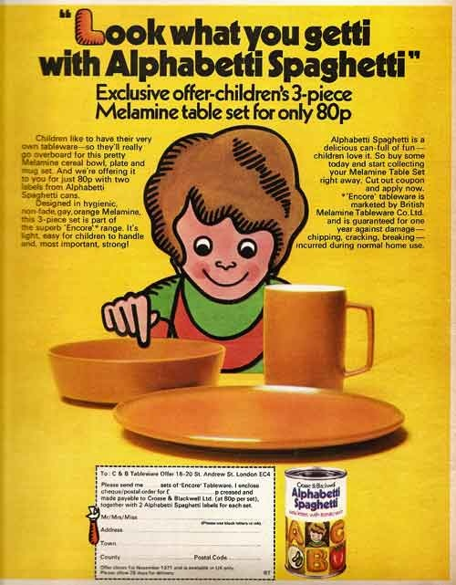 1970s cup set