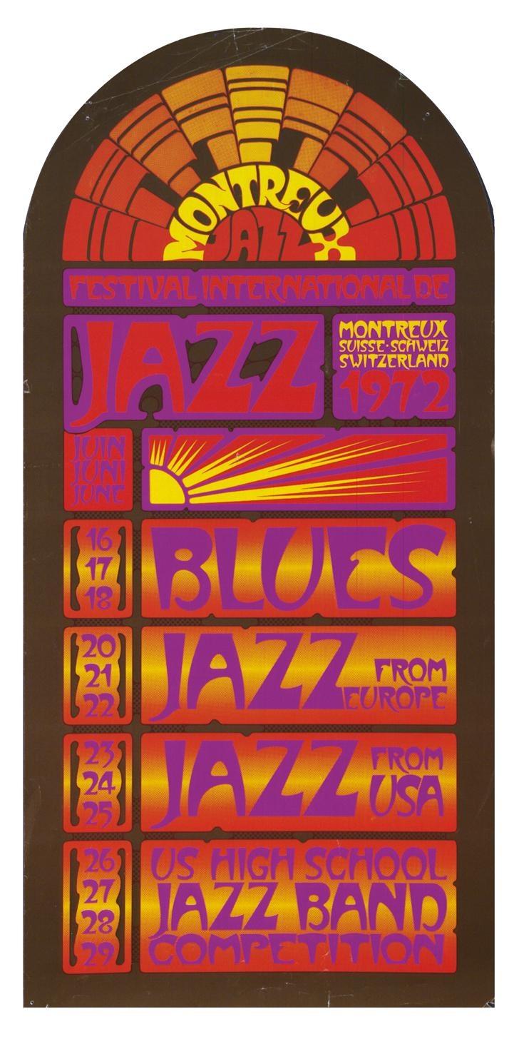 1972 Montreux Jazz Festival