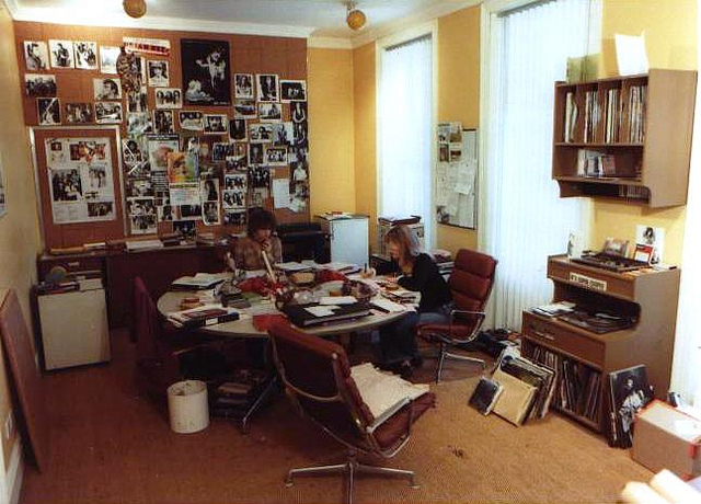1974 Island Records Office