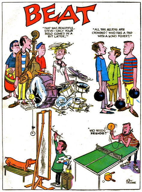 Beat Nick 1960s Comic