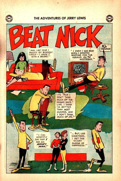 Beat Nick Bob Hope Comic
