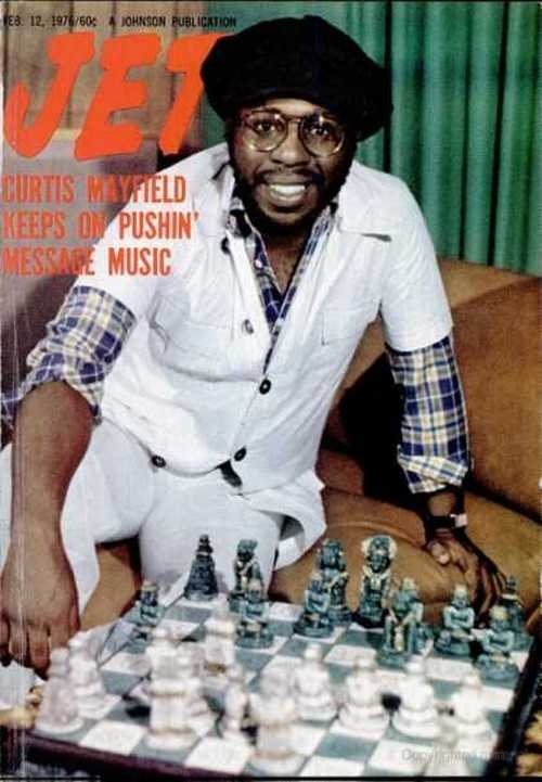 Curtis Mayfield Jet Magazine
