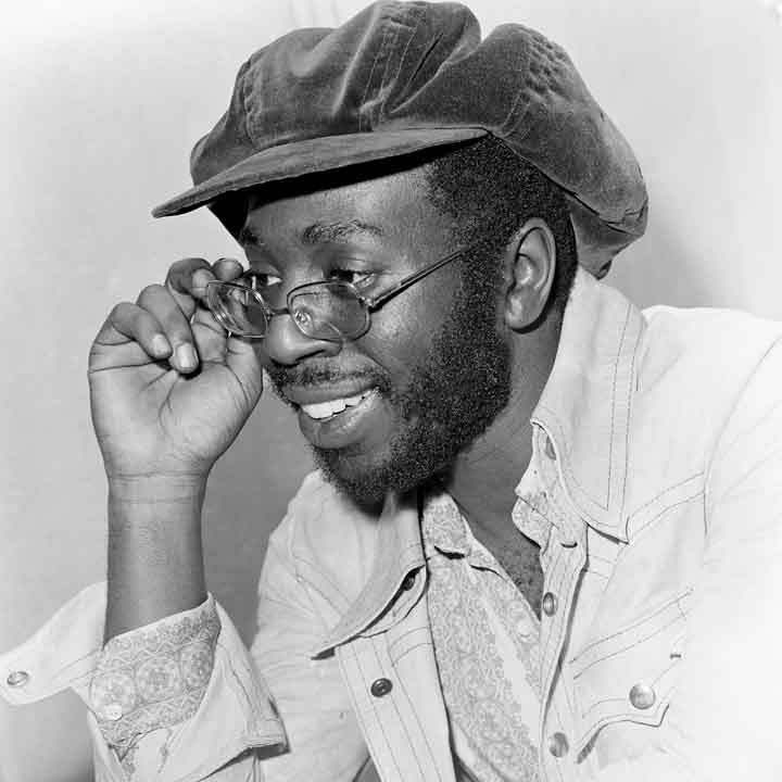 Curtis Mayfield by by Harry Goodwin