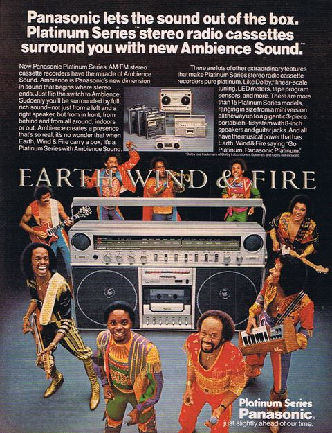 Earth Wind Fire - Panasonic