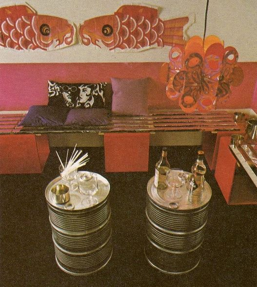 Golden Homes - Cylinder Tables