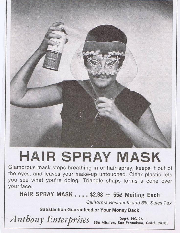 Hairspray Mask