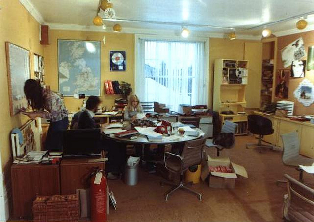 Island Records 1974 Office