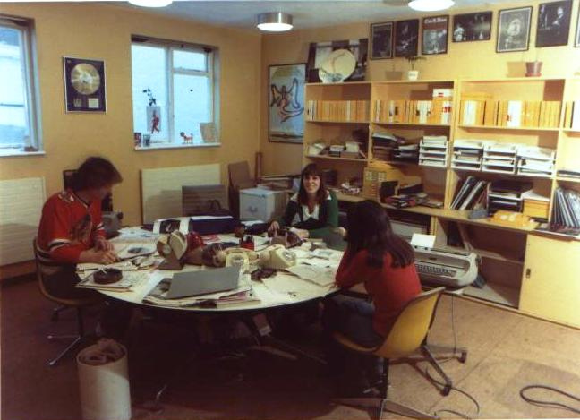 Island Records Office 1970s