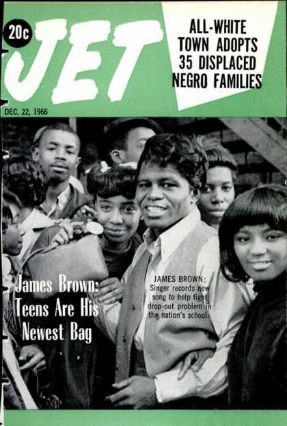 Jet Magazine James Brown Cover