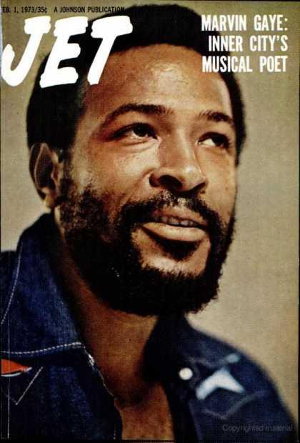 Jet Magazine Marvin Gaye