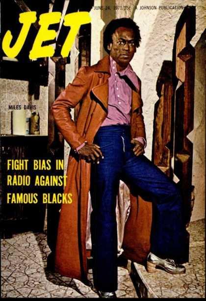 Jet Magazine Miles Davis