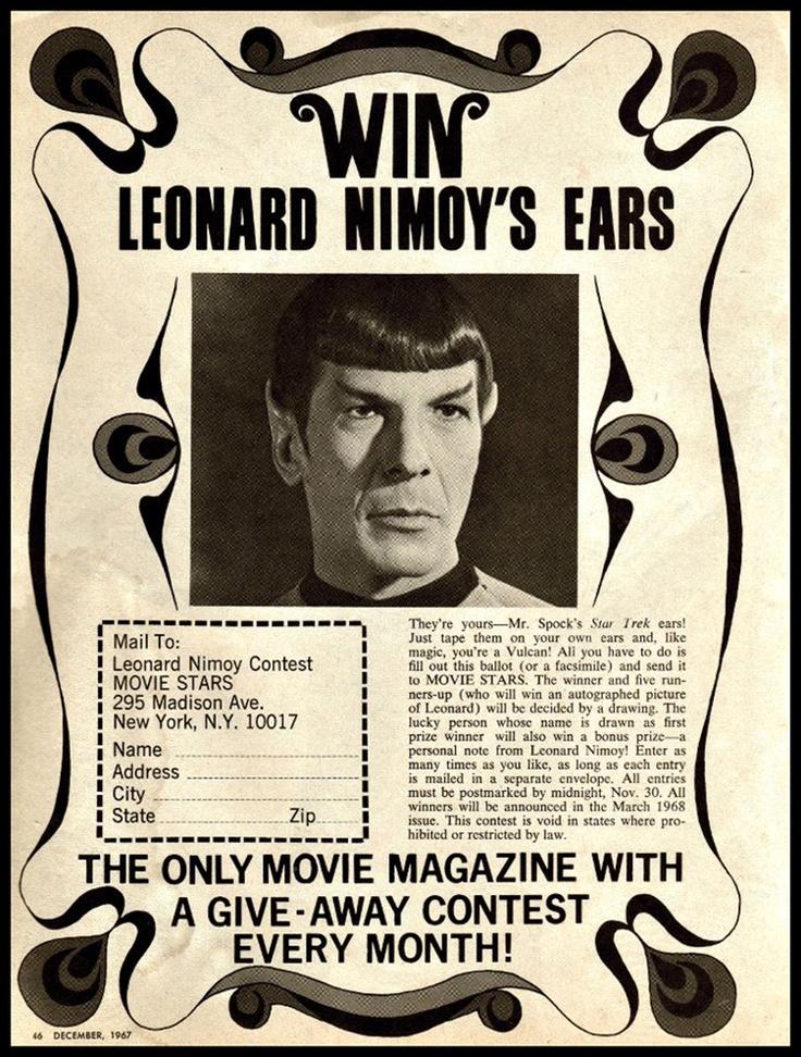 Leonard Nimoy Ears