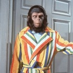 Actor Roddy McDowall Goes Ape
