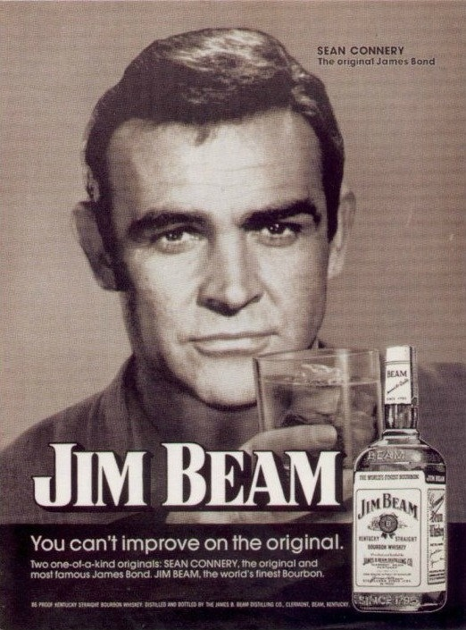 Sean Connery Jim Beam Advert