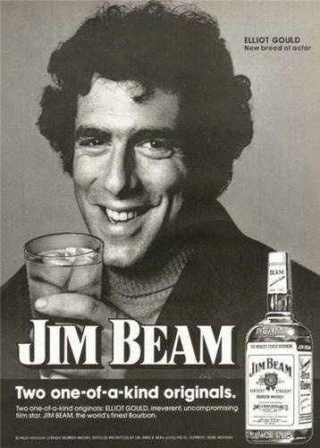 Elliott Gould Jim Beam