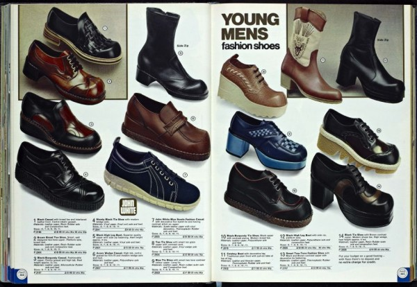 1970s Fashion Shoes
