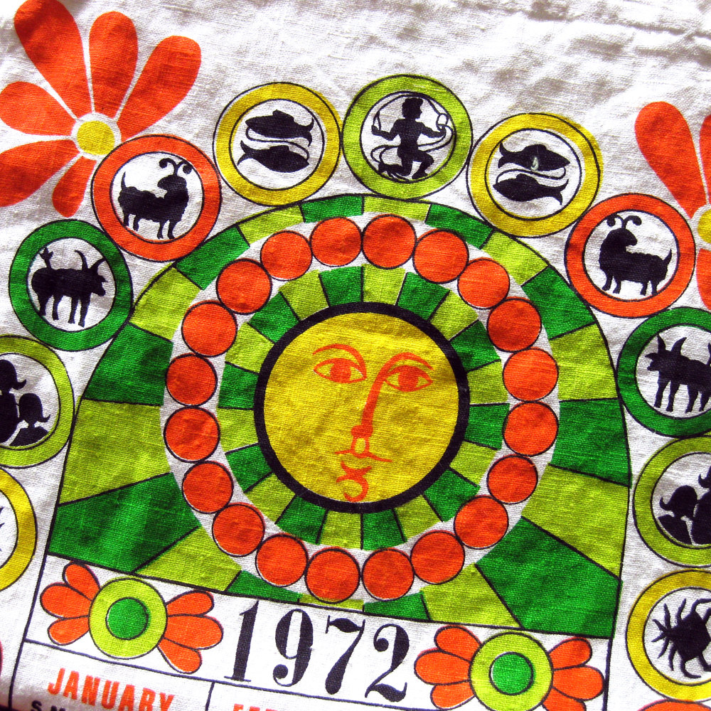 1972 Tea Towel
