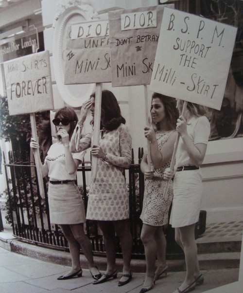 Mini Skirt Protest