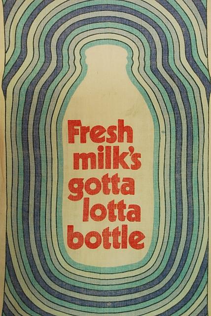 Fresh Milk Tea Towel