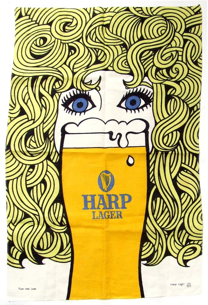 Harp Tea Towel