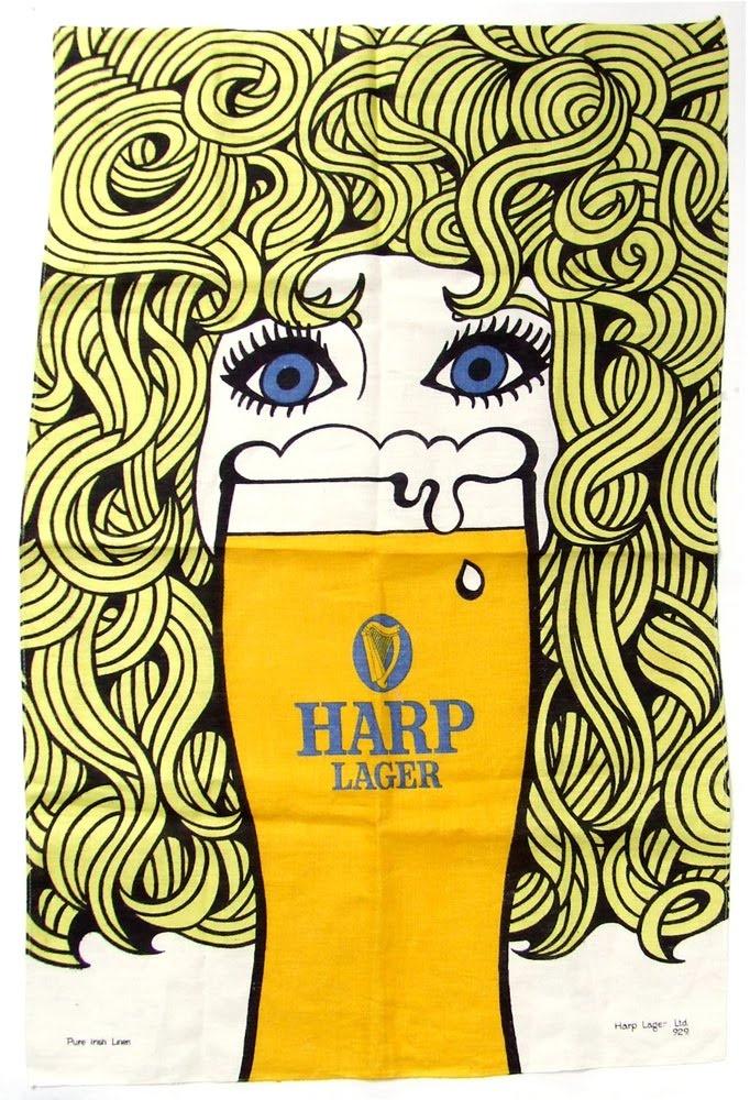 Harp Tea Towel