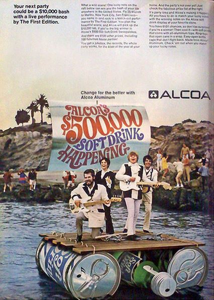 Kenny Rogers Alcoa Advert