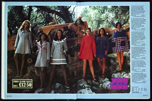 Ladies 1970s Coats