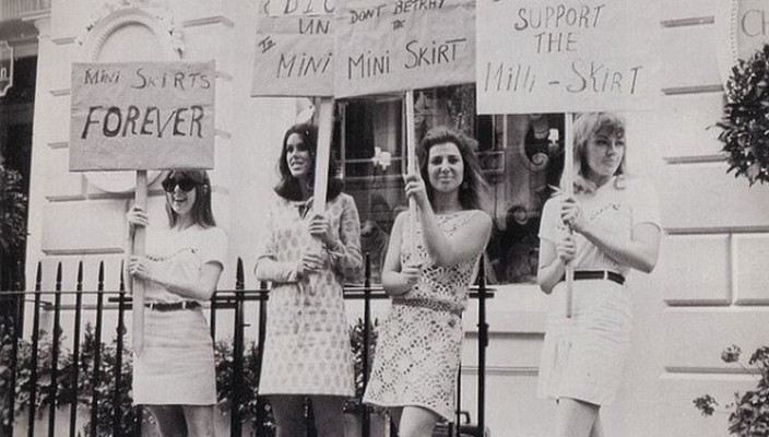 On The Hemline - Miniskirt Protests – Voices of East Anglia