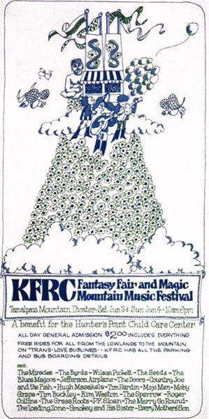 Mountain Music Festival Poster 1967