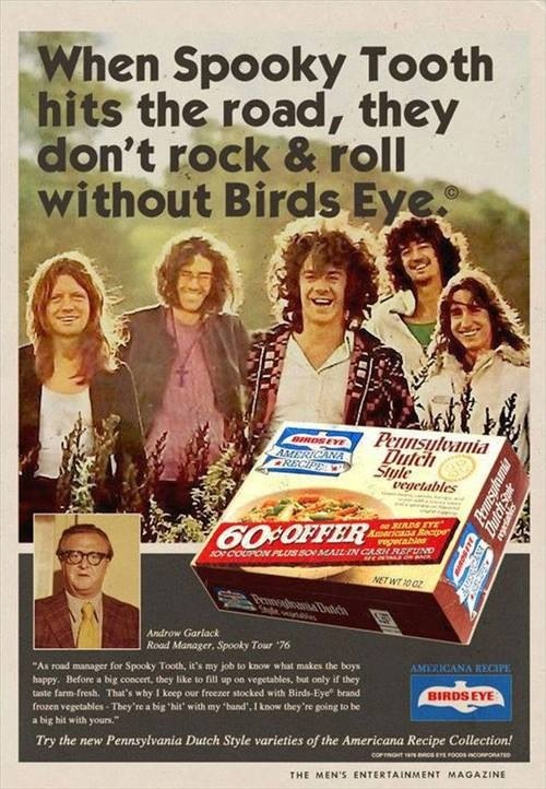 Spooky Tooth Birds Eye