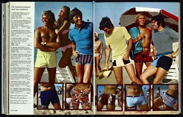 Swimwear 1970s