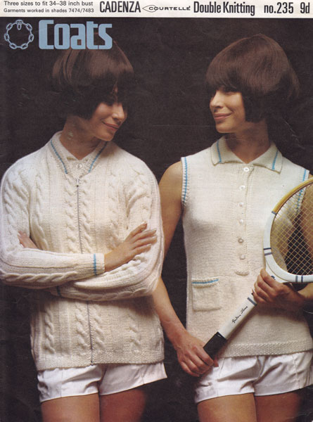 1960s Knitting Pattern