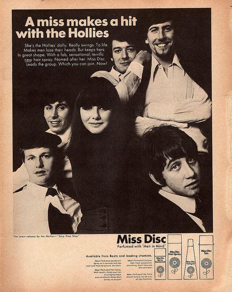 The Hollies Miss Disc Advert