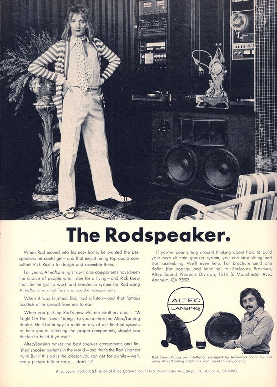 The Rod Stewart Speaker