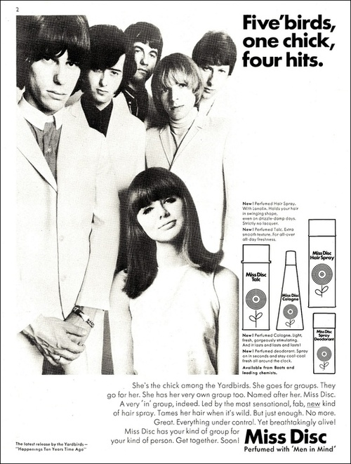 The Yardbirds Advert