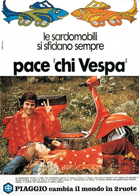 Vespa Advert