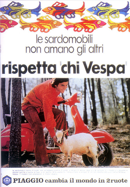 Vespa Sheep