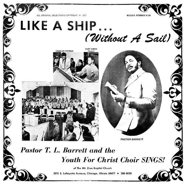 Pastor T.L Barrett Album