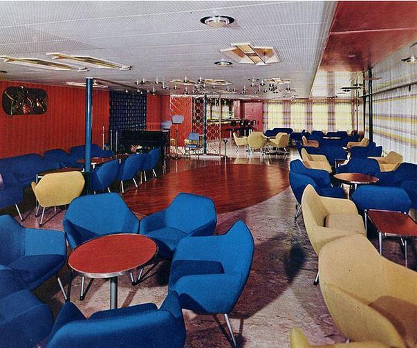 1960s Italian Ocean Liner