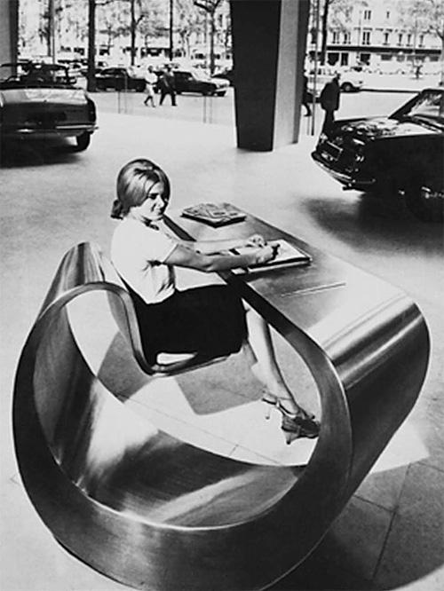 Car Showroom 1966